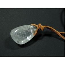 Kryształ górski Wisior przewiercony 2p