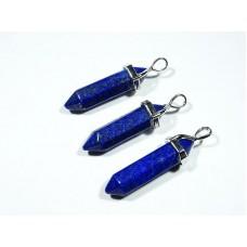 Lapis lazuli Wisior Zawieszka 4 cm. 1 szt. 90w