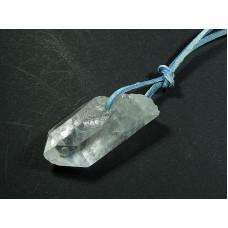 Kryształ górski Wisior przewiercony 15kr