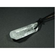 Kryształ górski Wisior przewiercony 22kr