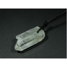 Kryształ górski Wisior przewiercony 25kr