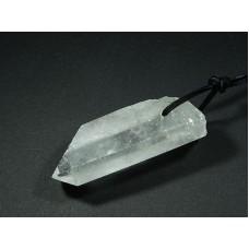 Kryształ górski Wisior przewiercony 33kr