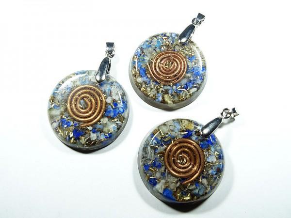 Wisior Orgonit Lapis lazuli Spirala 1 szt. 6w