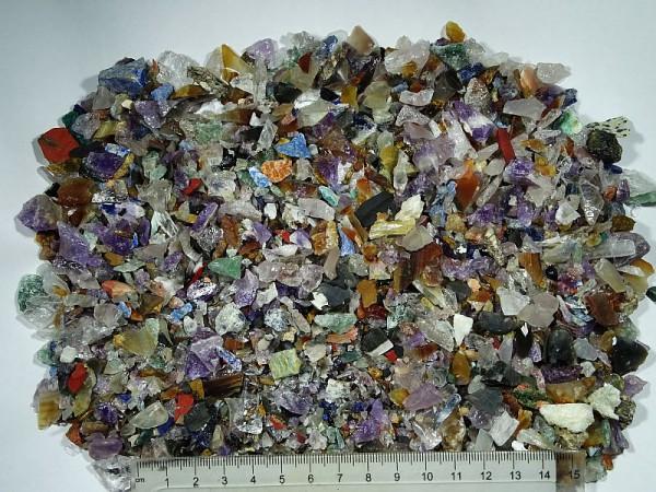 Mieszanka minerałów Surowy Zestaw 500 g. Drobny
