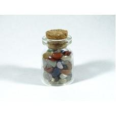 Mieszanka minerałów Buteleczka 20x30 mm. 9