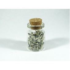 Jaspis Surowy Buteleczka 20x30 mm. 1 szt 12