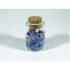 Lapis lazuli Surowy Buteleczka 20x30 mm. 1 szt. 17