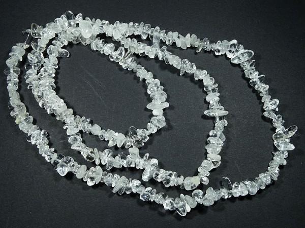 Kryształ górski Naszyjnik Kamień naturalny
