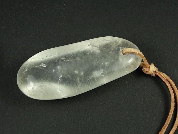 Kryształ górski Wisior przewiercony 29p