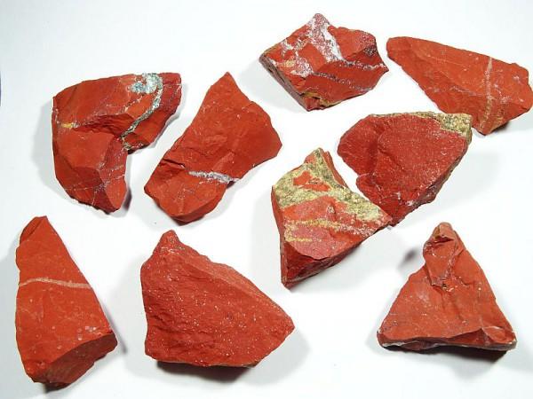 Jaspis czerwony Surowy 40 - 45 mm. 1 szt. 59pr