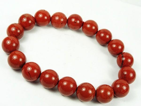 Jaspis czerwony Bransoletka 38B