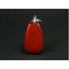 Jaspis czerwony Wisior 423
