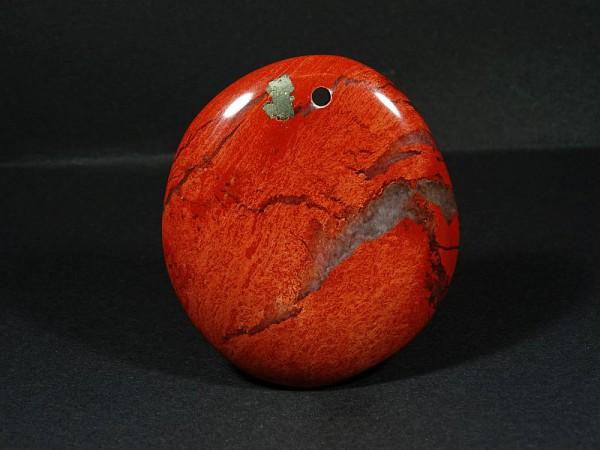 Jaspis czerwony Przewiercony 15