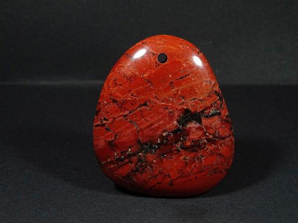Jaspis czerwony Przewiercony 16