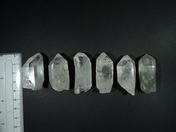 Kryształ górski Chembuster Orgonit Zestaw 6 szt. 7 R 28 mm.