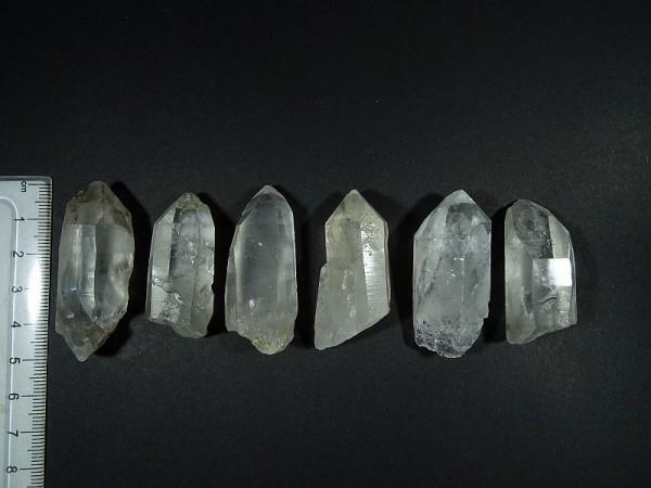 Kryształ górski Chembuster Orgonit Zestaw 6 szt. 10. R 28 mm.
