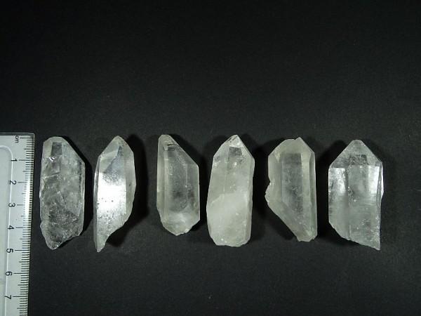 Kryształ górski Chembuster Orgonit Zestaw 6 szt. 15. R 28 mm.