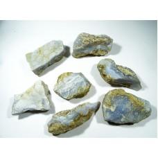 Chalcedon niebieska korona Surowy 40 - 50 mm. 1 szt. 22pr